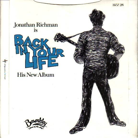 Jonathan Richman and The Modern Lovers Jonathan Richman And The Modern Lovers Modern Lovers 88